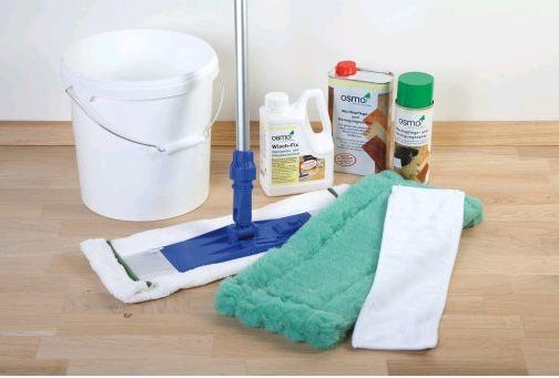Osmo Opti-Set für die Pflege glatter Fußböden