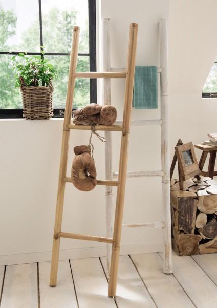 Bambusleiter für Deko oder Handtücher