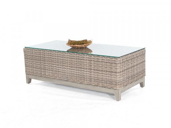 Lounge-Tisch white-coral, Serie Pisa