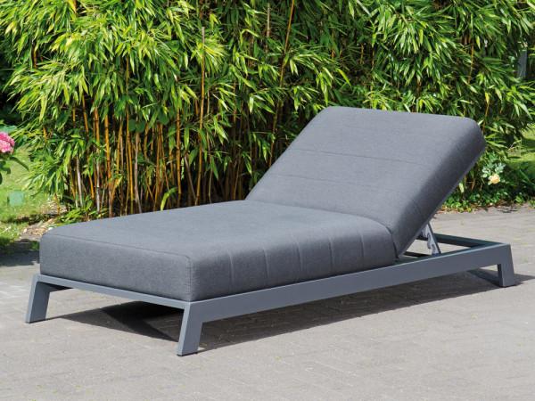 100% Outdoor-Relaxliege, Kopfteil höhenverstellbar