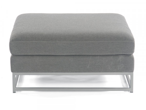 100% Outdoor-Sofa Hocker, Serie Deluxe