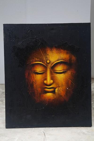 Leinwandbild, GOLDEN BUDDHA
