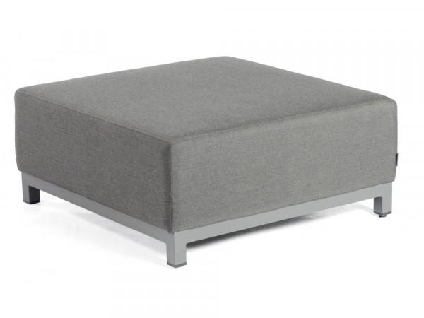 100% Outdoor-Sofa Hocker, anthrazit, Serie Pure