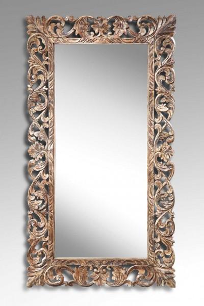 Spiegel mit Holzrahmen, Antik-Look