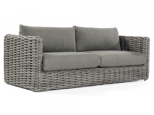 Sofa in Charcoal, Serie Salt