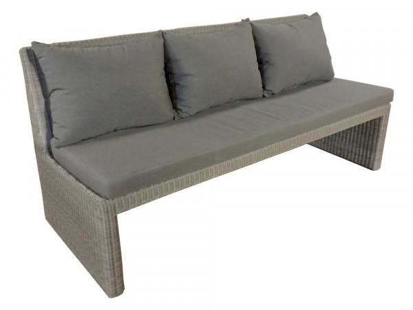 Sofaelement 3-Sitzer, steingrau, Serie Savanne