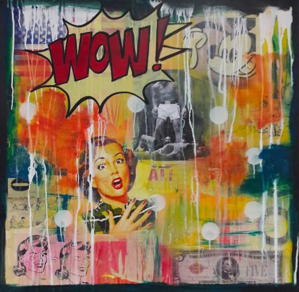 Leinwandbild, ART COMIC WOW 2