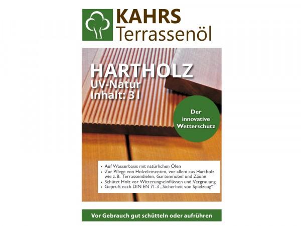 Terrassenöl für Hartholz