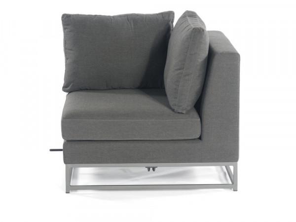 100% Outdoor-Sofa 1-Sitzer-Eckmodul, Serie Deluxe