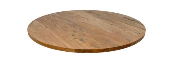 Tischplatte Akazie rund