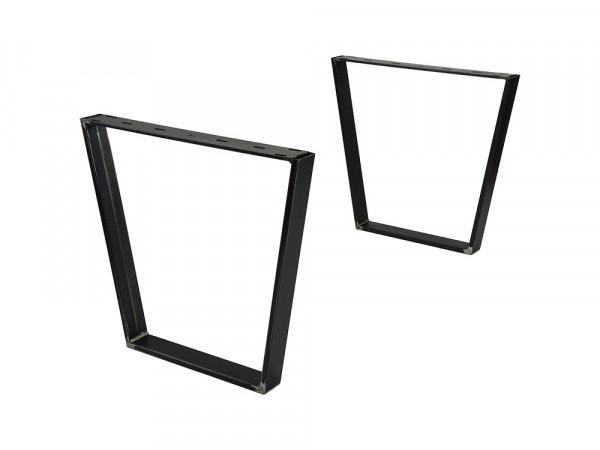 Tischgestell Simple II, Stahl klar lackiert