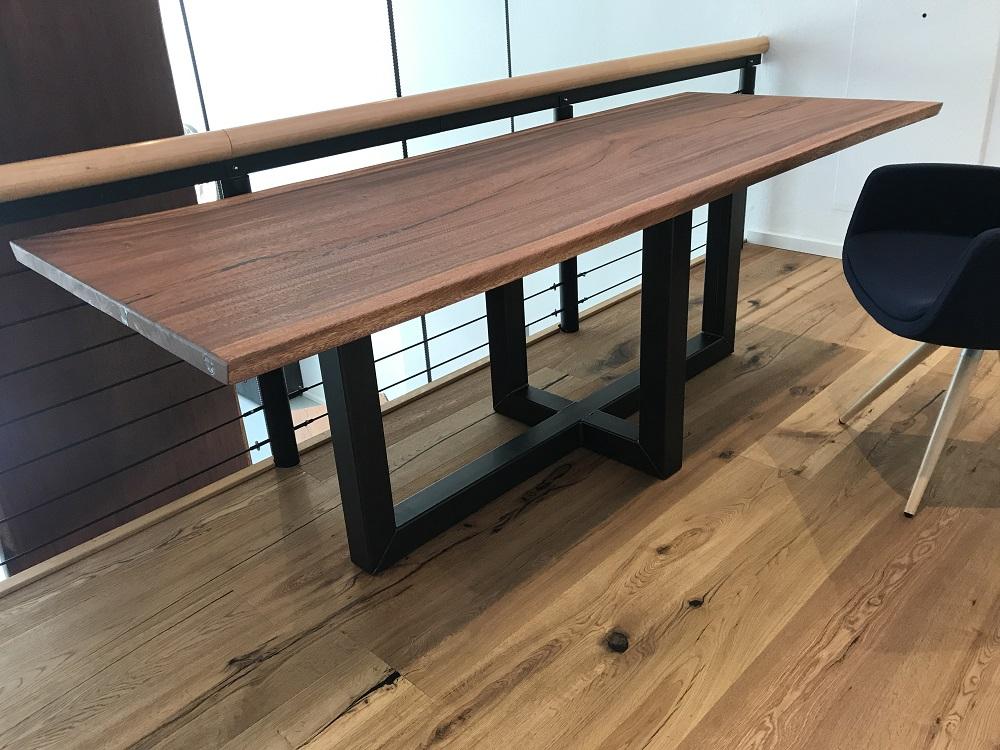 Tischgestell Akazie Cross
