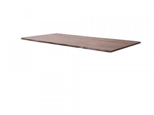 """System Porto - Tischplatte Akazie Farbe """"Walnuß"""", verschiedene Größen"""