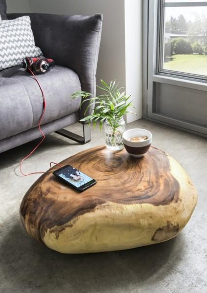 Holzfindling, Dekoobjekt aus Suarholz