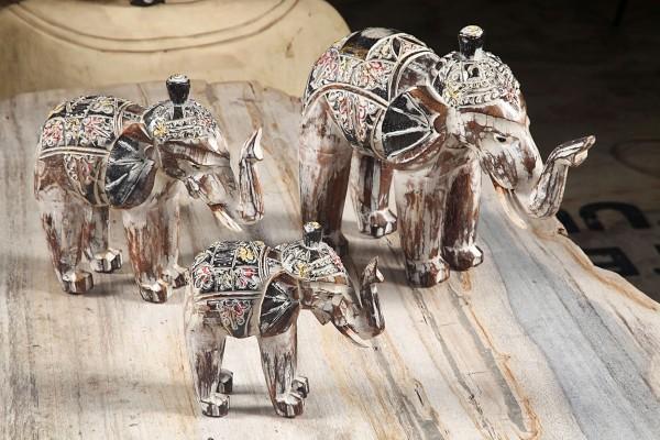 Deko Elefantenfamilie, 3er-Set