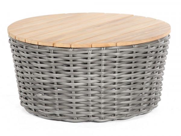 Lounge-Tisch Charcoal rund, Serie Salt