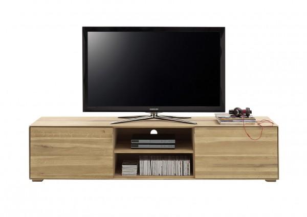 TV-Lowboard Lorenz, Wildeiche Massiv