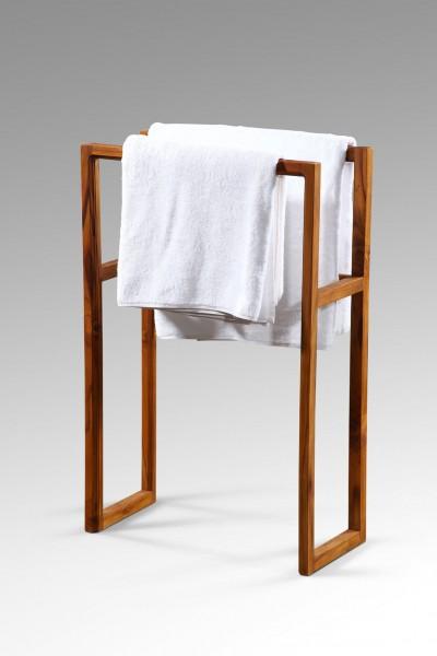 Handtuch-Ständer aus Teakholz