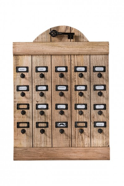 Schlüsselbrett aus Recyclingholz