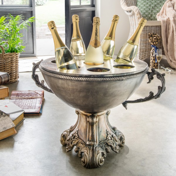 Champagner-/Weinschale mit Henkeln