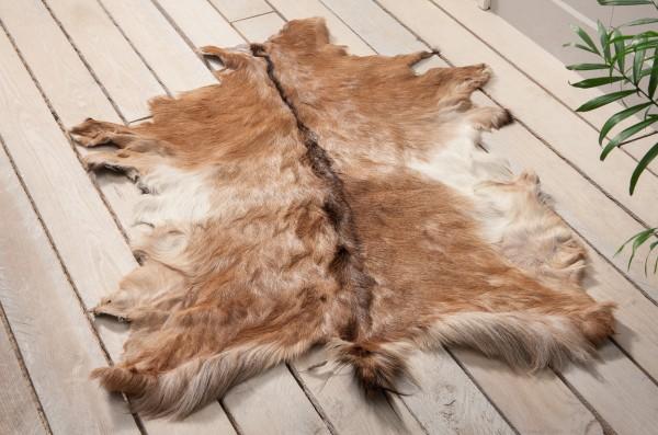 Ziegenfell Deko-Teppich